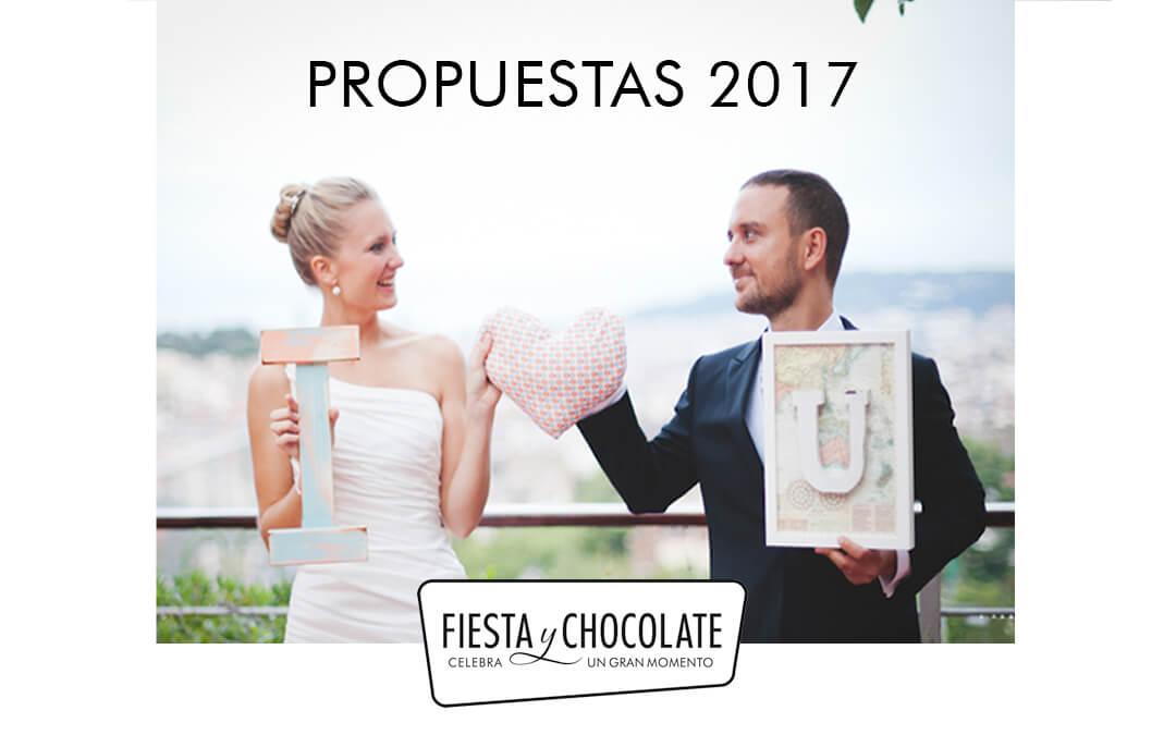 Propuestas decorativas para bodas