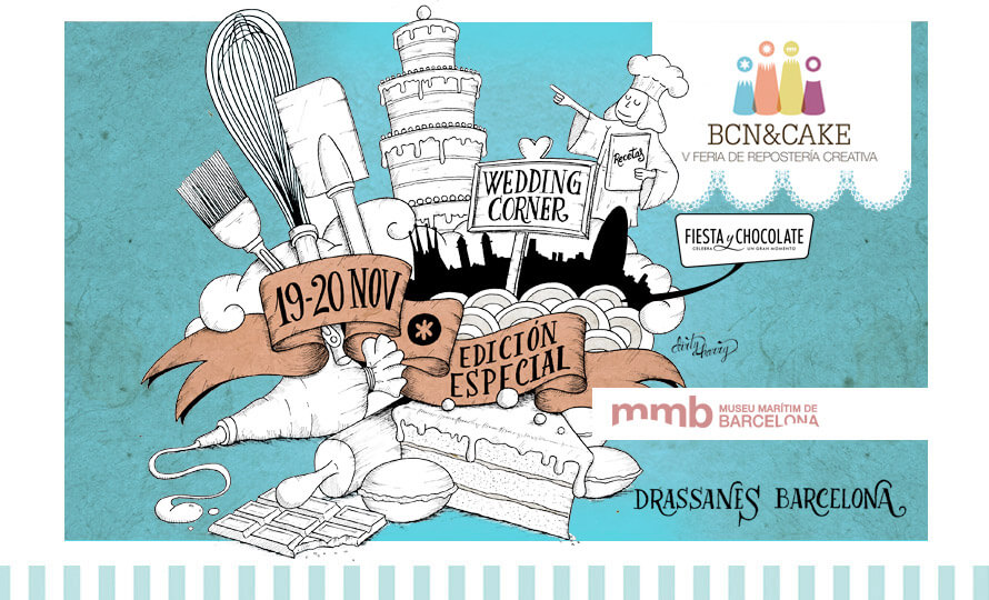 Fiesta y chocolate en BCN&CACKE