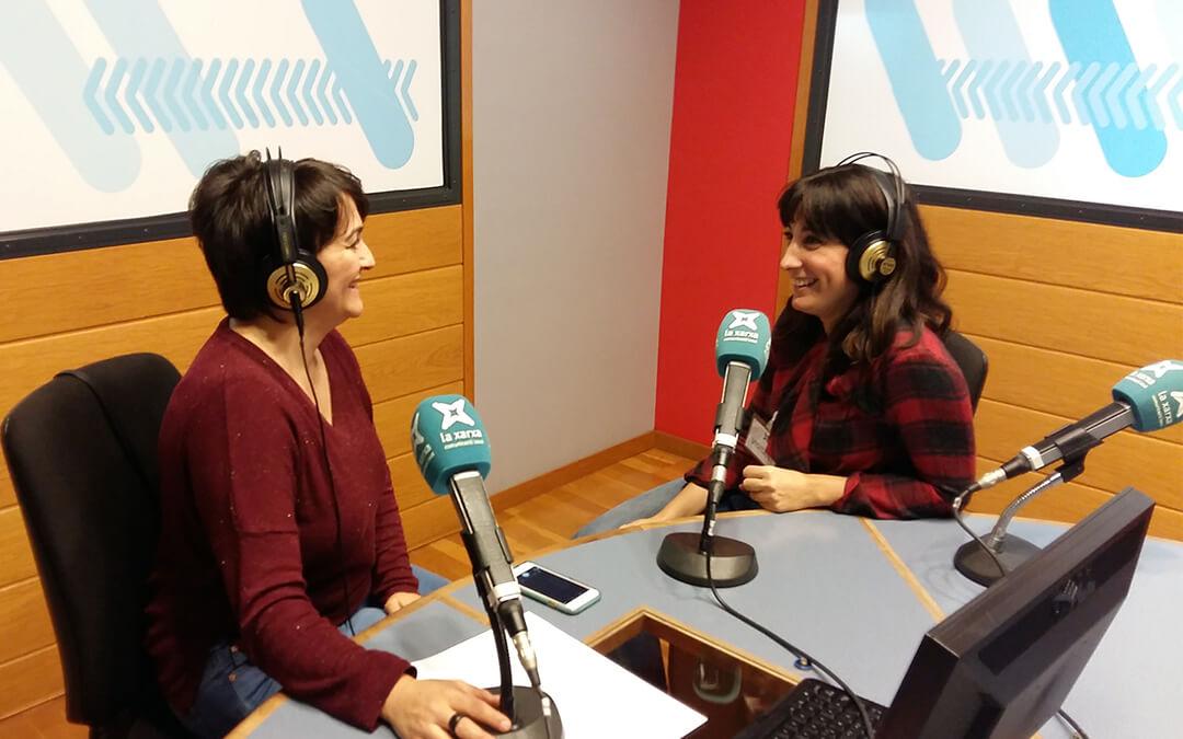 Fiesta y Chocolate en la radio