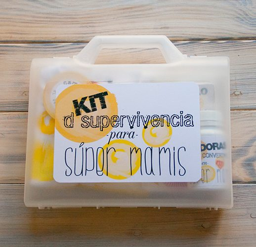 kit de supervivencia mamá unisex