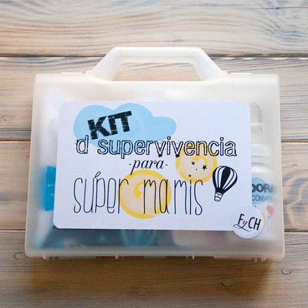 kit supervivencia mamá niño