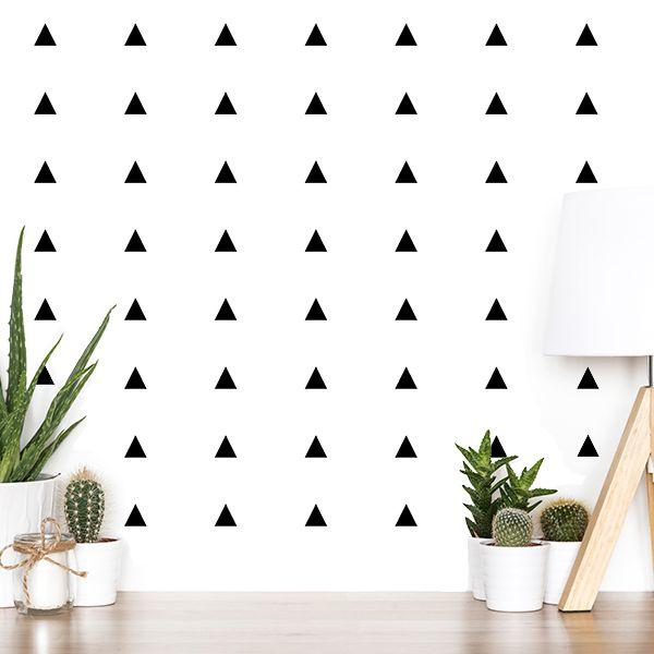 vinilo-de-pared-triangulos